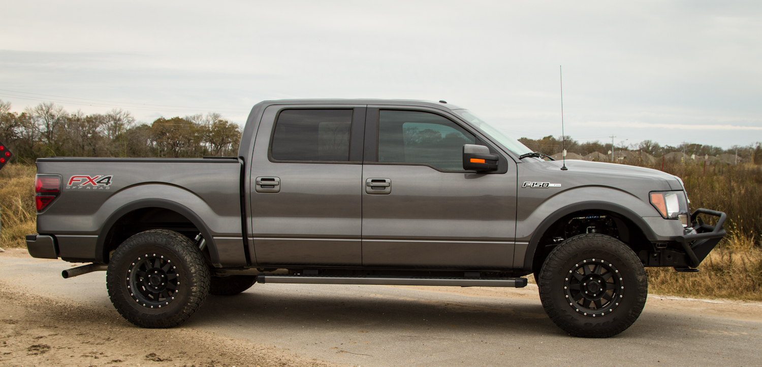 34 tire on 18 with leveling kit