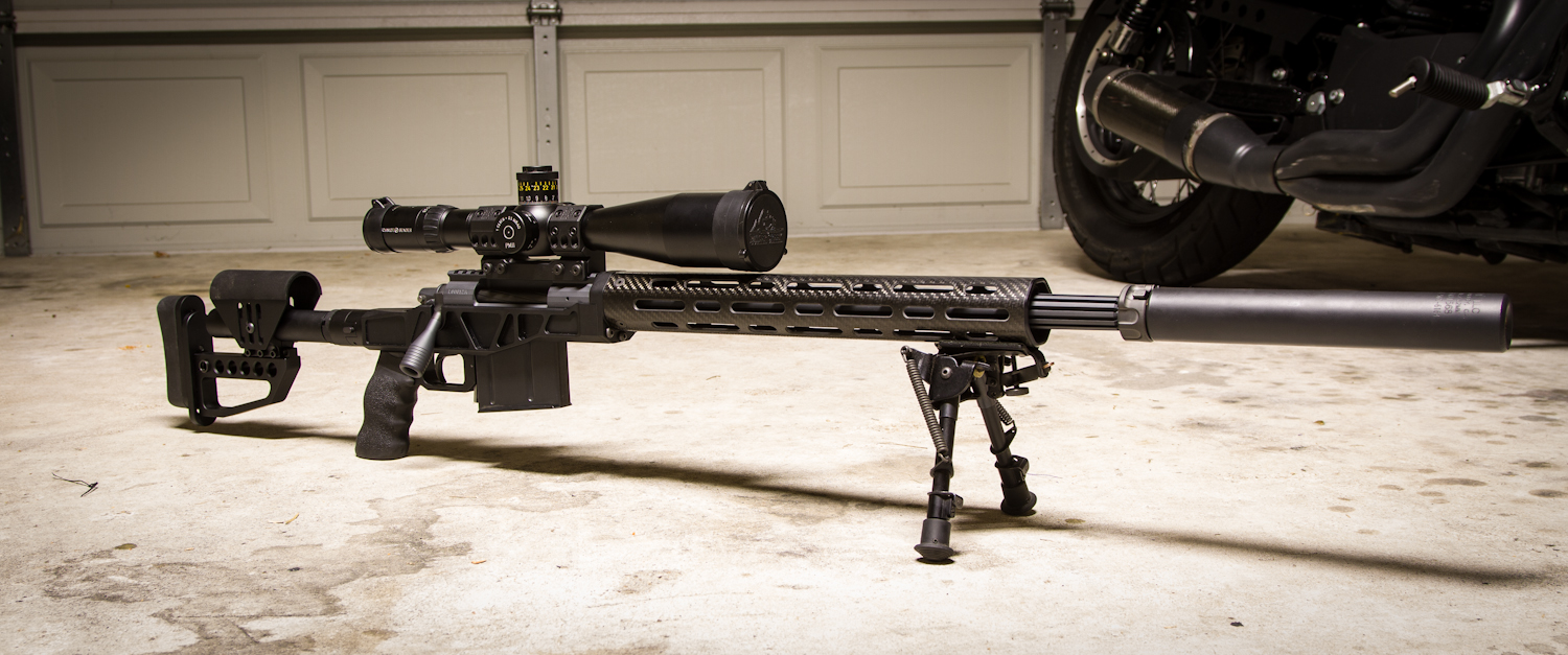 Mister Donut's Firearms Blog: XLR Carbon Chassis